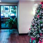 Business Center and Holiday Cheer