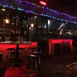 Festive Beelow's Porch Bar