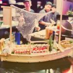 The Love Boat... Sushi chefs showing much love