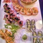 Compliments of amazing sushi chefs