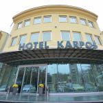 Hotel Karpos**** entrance