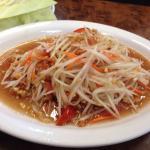 Papaya salad Thai style