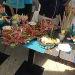 Des buffets énormes !!!
