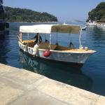 The smallest and oldest Adriana boat
