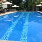 Quiet pool next to B1