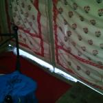 Tent badly tied up