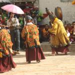 monks dance