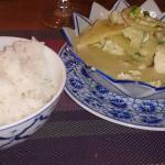 Poulet et riz