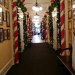 The hallway at Congress Hall