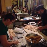 Gnocchi di zucca gialla in preparazione!!