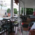 Magnifique terrasse couverte, Café La Salicorne