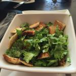 My caesar salad modified for me with balsamic for dressing -Great!