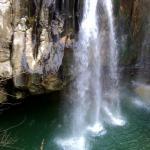 водопад на реке Агура