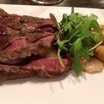 Bison flatiron steak