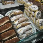 Italian Pastry- REAL Tiramisu on the left!