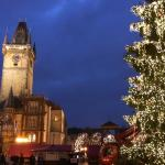 Christmas Markets being set up November 26