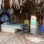 Upstairs palapa room -