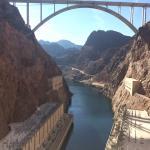 Taken from air vent inside dam walls.