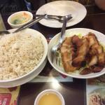 Lechon Macau in Garlic Rice