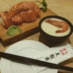 Fresh and delicious sashimi