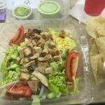 To-Go Chicken Salad (no shell) from Texas City Gringo's was YUMMY