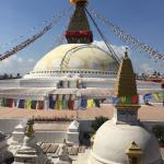 Most direct and close view of Bourdha Stupa is from this restaurant