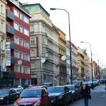 Žítná street just outside