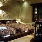 inside of kandovan hotel