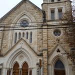 outside the church