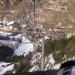 Vistas de Canillo desde el telecabina