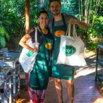 Our free bags and cooking books
