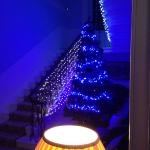 Christmas in the hall of thorpe house hotel