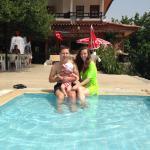 Маша из Казахстана с дочкой и я