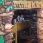 Kids loved the Wolf Den room!