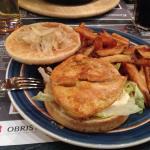chicker burger