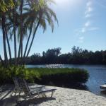 The private little beach