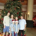 Big Xmas tree in the foyer