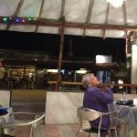 Dining area ... Corro (Sra Socorro - founder of Posada Amor)