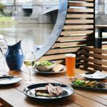 River Side Dining in Style