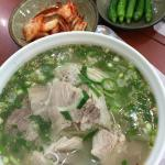 Black Pork Noodle Soup (KRW7,000 per big bowl) Thumbs up