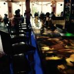 50 Ocean blue onyx bar
