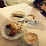 Good coffee and pastries