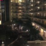 Dentro do hotel