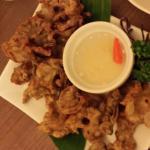 Chicharon bulaklak( fried intestine)