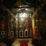 Festive Entrance to Ada Villas