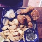 Fantastic fish and chips.. Yum!!