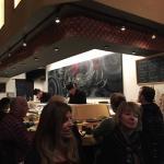 Sushi bar at Sushi Shunka