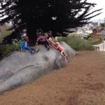 If all the things we spent a ton of money on... Climbing on the whale (for free) was one of my k
