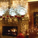 Fireplace in main dining room, Old Town Inn, Germantown, WI