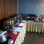 Breakfast buffet changed slightly daily, was worthwhile upgrade to include.